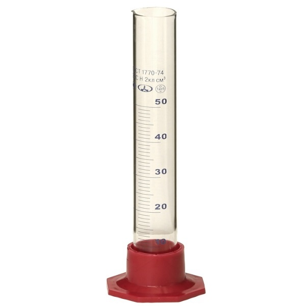 Цилиндр мерный 50 мл основная