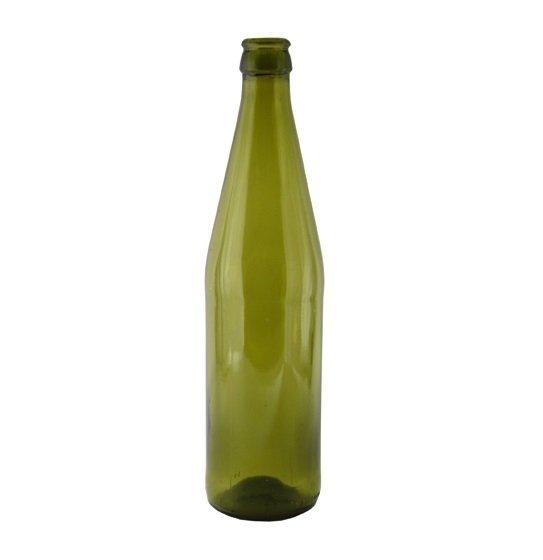 Бутылка пивная зеленая 0,5 л.