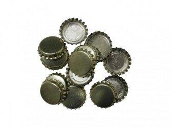 Кроненпробки для пивных бутылок золото 100шт