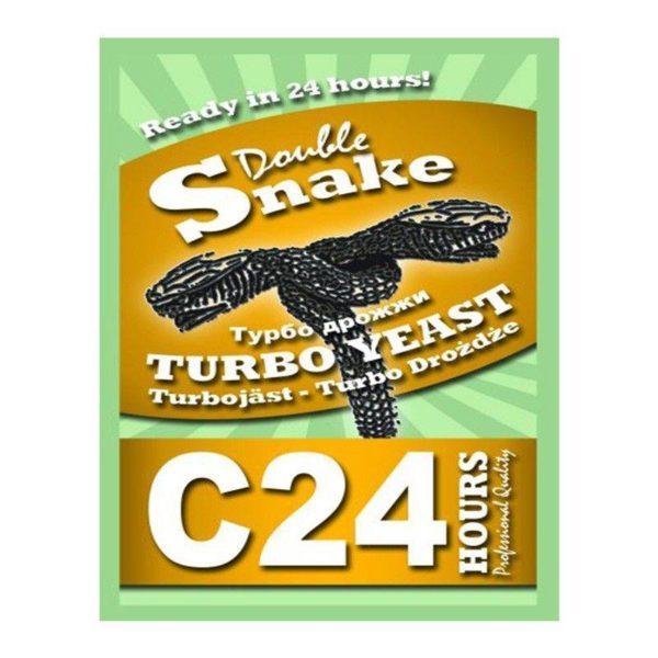 Турбо-дрожжи DoubleSnake C24