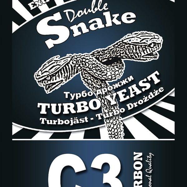 Турбо-дрожжи DoubleSnake Carbon