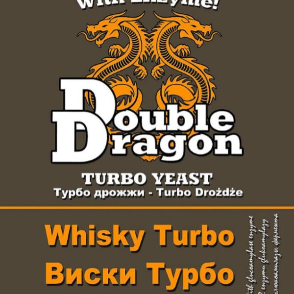 Турбо-дрожжи DoubleDragon Whisky, 72 г