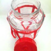 Бутыль стеклянная с гидрозатвором4
