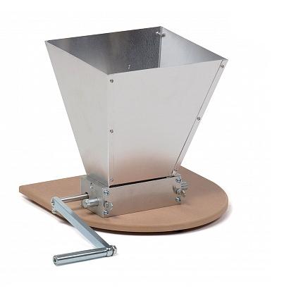 Мельница двухвальцовая для помола солода