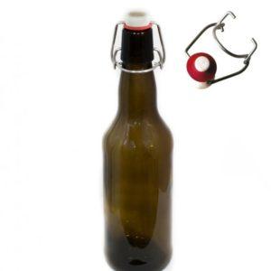 Бутылка с бугельной пробкой 0,5л