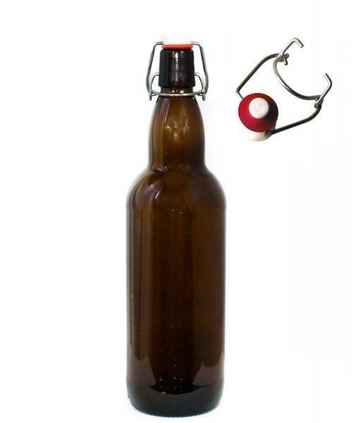 Бутылка с бугельной пробкой 1л