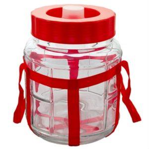 Бутыль стеклянная с гидрозатвором3