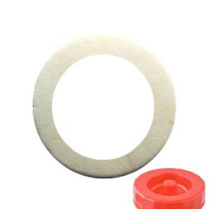 Прокладка от красной крышки бутыли с гидрозатвором